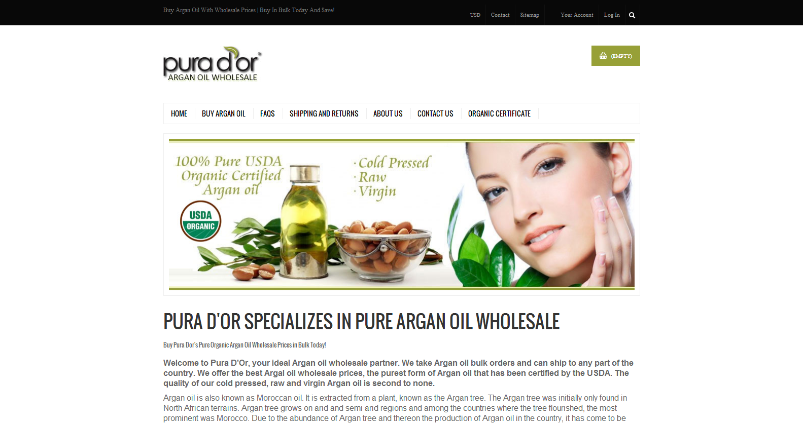 Argan Oil Wholesales
