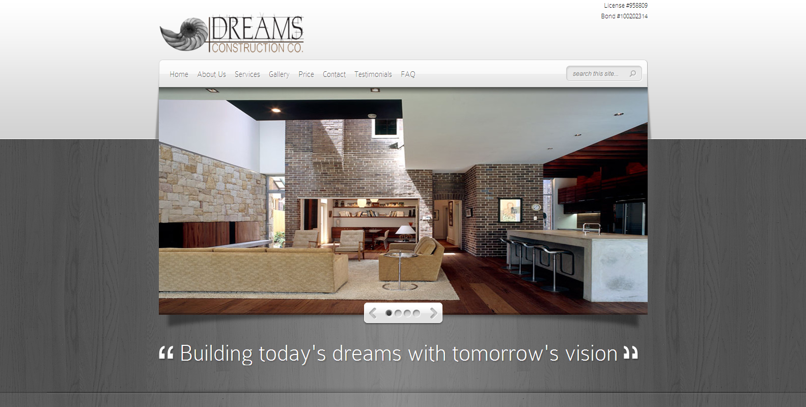 Dreams Construction Company